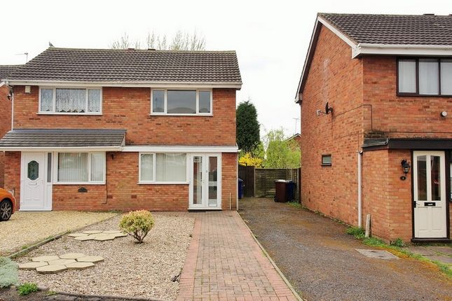 Thumbnail Semi-detached house to rent in Grove Close, Norton Canes