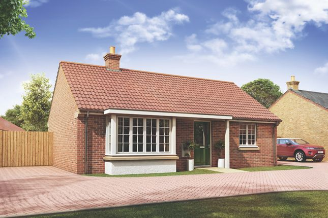Thumbnail Bungalow for sale in Mayfield Gardens, Baston