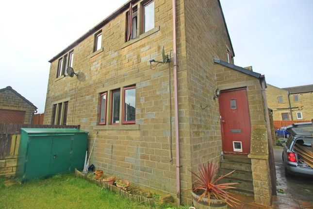 Thumbnail Terraced house to rent in Bayfield Close, Hade Edge