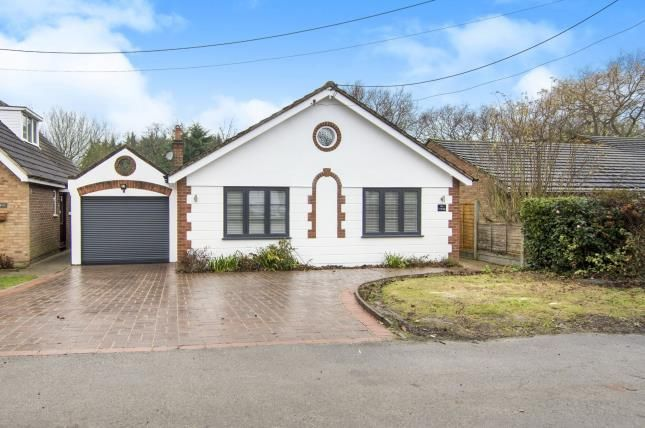 Thumbnail Bungalow for sale in Toot Hill, Ongar, Essex