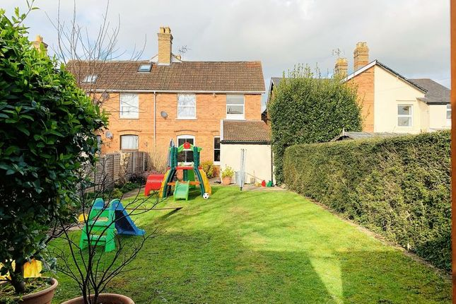 Thumbnail Semi-detached house for sale in Greenway Road, Taunton