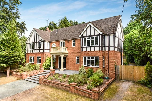 Thumbnail Detached house for sale in London Road, Bagshot, Surrey