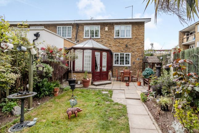 Thumbnail End terrace house for sale in Carbis Road, London, London