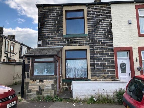 Front of Pratt Street, Burnley, Lancashire BB10