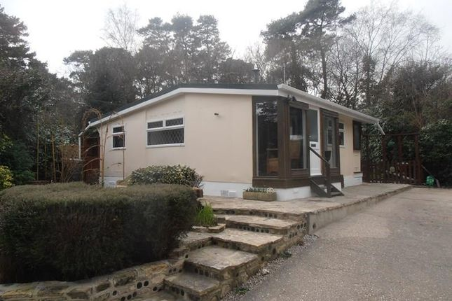 Thumbnail Mobile/park home for sale in Organford Road, Holton Heath, Poole