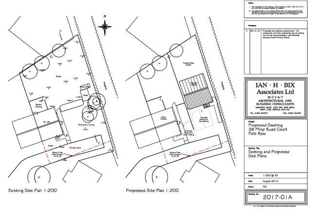 Thumbnail Land for sale in Philip Rudd Court, Pott Row, King's Lynn