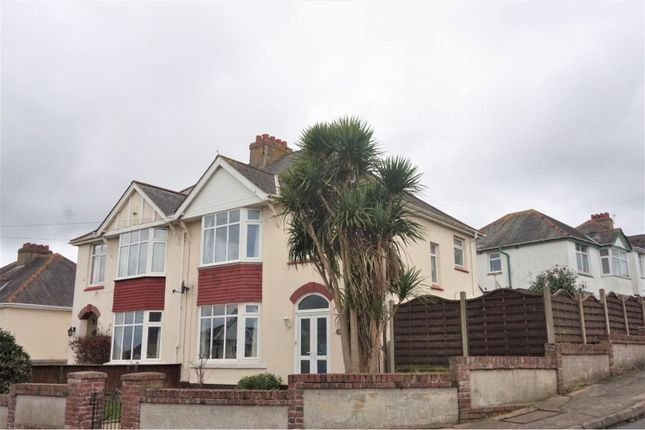 Thumbnail Semi-detached house for sale in Barnfield Road, Paignton