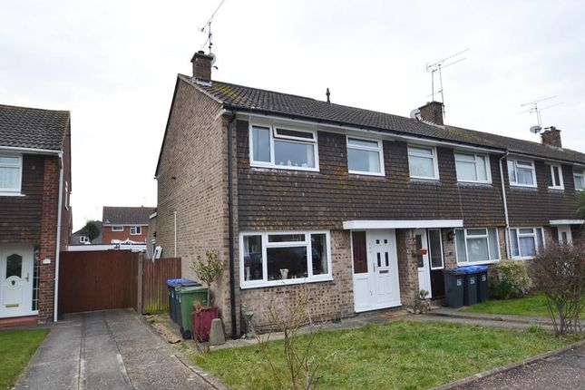 Thumbnail End terrace house for sale in Boxgrove, Worthing, West Sussex