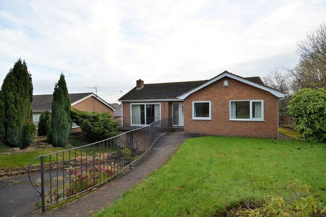 Thumbnail Detached bungalow to rent in Tideswell Close, Staveley, Chesterfield
