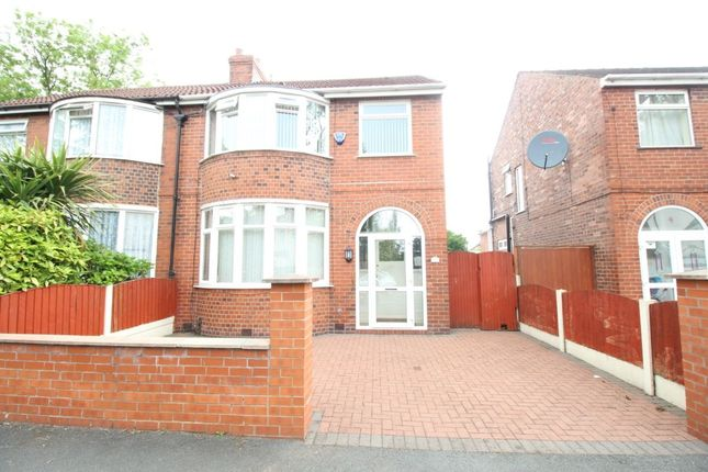 Thumbnail Semi-detached house for sale in Buckingham Road, Stretford, Manchester