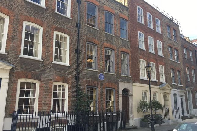 Thumbnail Terraced house for sale in Elder Street, Spitalfields