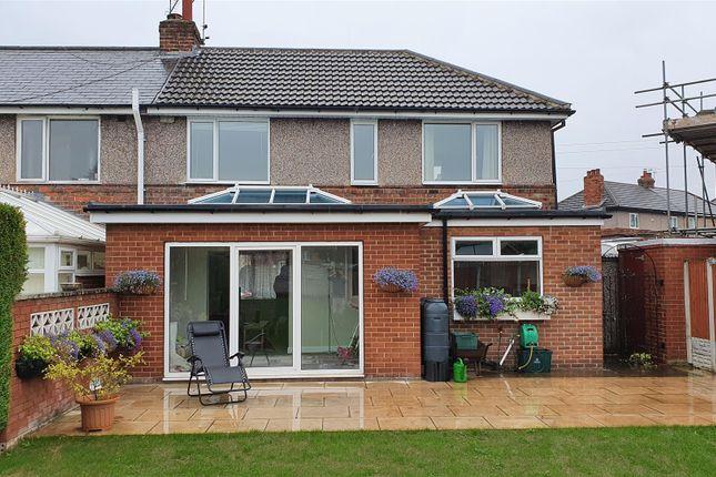 Thumbnail Semi-detached house for sale in Grange Road, Woodlands, Doncaster