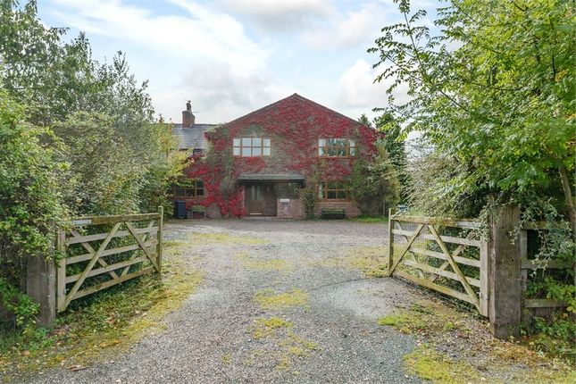 Thumbnail Detached house for sale in Barrow Lane, Great Barrow, Chester, Cheshire