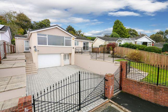 Thumbnail Detached bungalow for sale in Gaze Hill, Newton Abbot