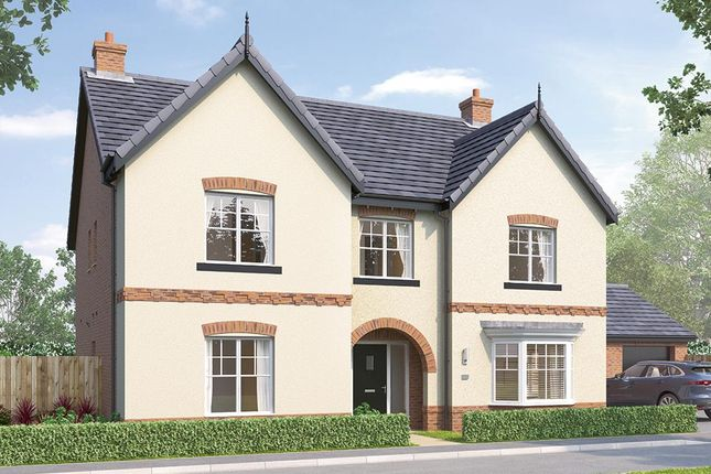 "Thumbnail Detached house for sale in ""The Oakham"" at Steeplechase Way, Market Harborough"