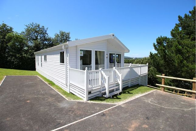 Thumbnail Mobile/park home for sale in Warren Road, Dawlish Warren, Dawlish