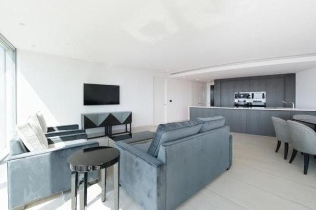 Thumbnail Property to rent in The Tower, St. George Wharf, London