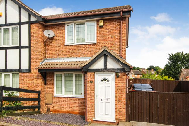 Thumbnail Semi-detached house for sale in Dylan Thomas Road, Bestwood Park, Nottingham