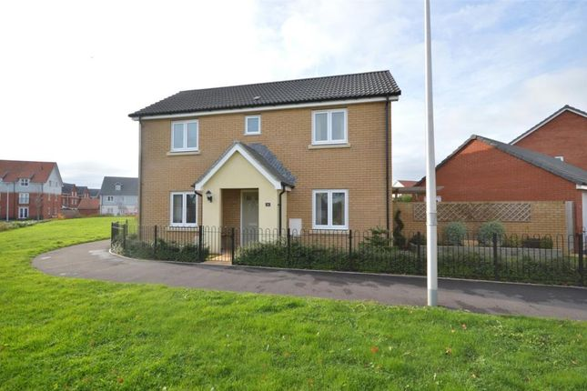 Thumbnail Detached house for sale in Trafalgar Road, Greenacres, Exeter, Devon