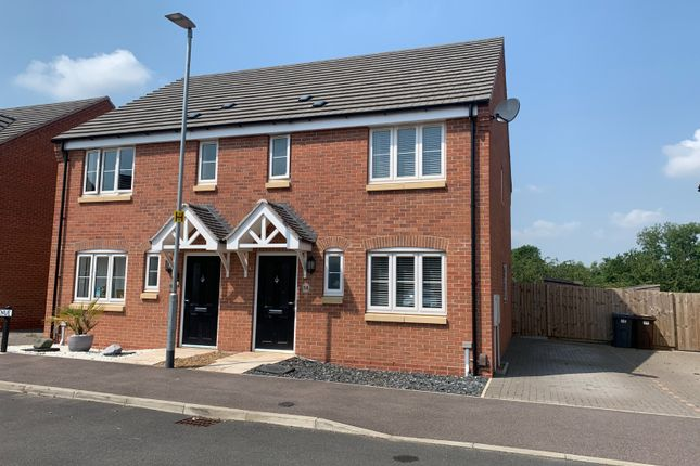 3 bed semi-detached house for sale in Badger Avenue, Melton Mowbray LE13