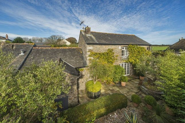 Thumbnail Detached house for sale in Treviskey, Portloe, Truro