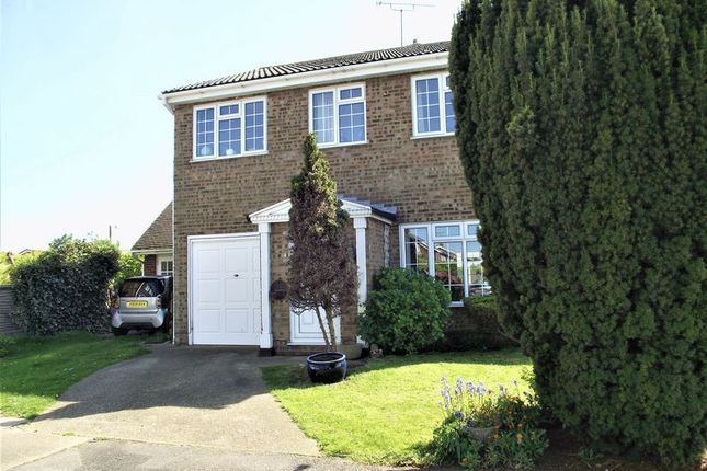 Thumbnail Semi-detached house to rent in Turner Close, Shoeburyness, Southend-On-Sea