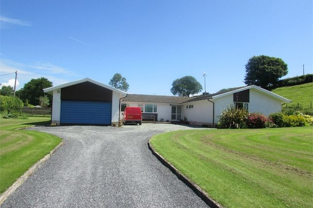 Thumbnail Detached bungalow for sale in Kyngadle Farm, Laugharne, Carmarthen