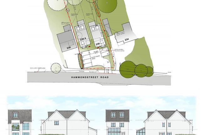 Thumbnail Land for sale in Hammondstreet Road, Cheshunt, Waltham Cross