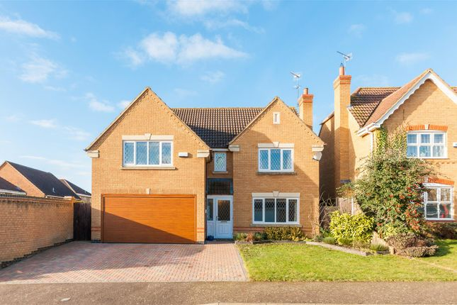 Thumbnail Detached house for sale in Broom Way, Kettering