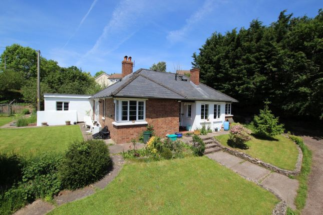 Thumbnail Detached bungalow for sale in Cradoc Road, Brecon