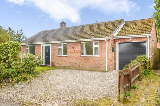 Thumbnail Detached bungalow for sale in Glemsford, Sudbury, Suffolk