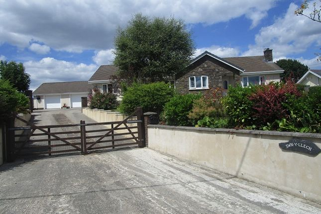 Thumbnail Detached bungalow for sale in 53 Heol Eglwys, Coelbren, Powys.