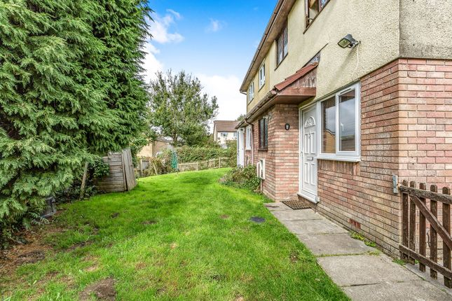Thumbnail End terrace house for sale in Willowturf Court, Bryncethin, Bridgend