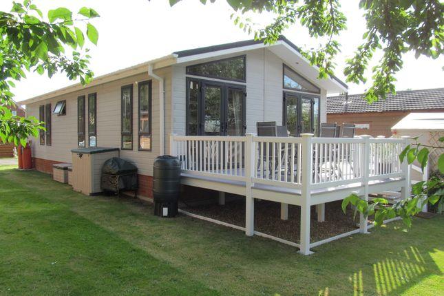 Thumbnail Lodge for sale in Grange Lodge Park, Straight Road, East Bergholt