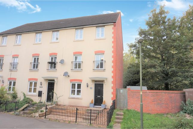 Thumbnail End terrace house for sale in Millgate Close, Stourport-On-Severn