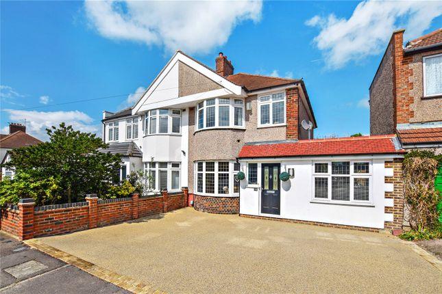 Thumbnail Semi-detached house for sale in Carisbrooke Avenue, Bexley, Kent