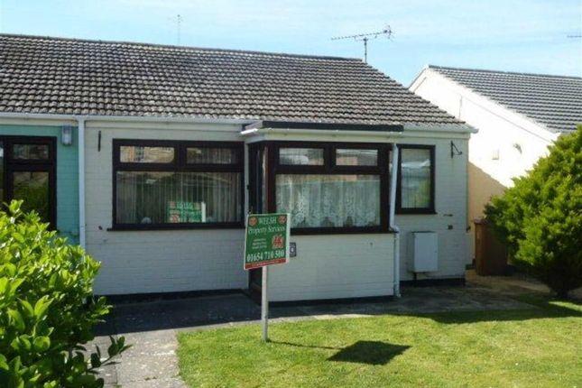 Thumbnail Semi-detached bungalow for sale in 30, Cantref, Tywyn, Gwynedd
