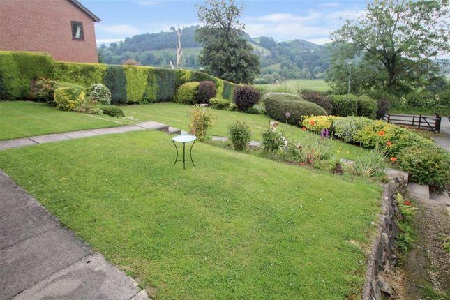 Front Garden of Llwyn Y Garth, Llanfyllin SY22