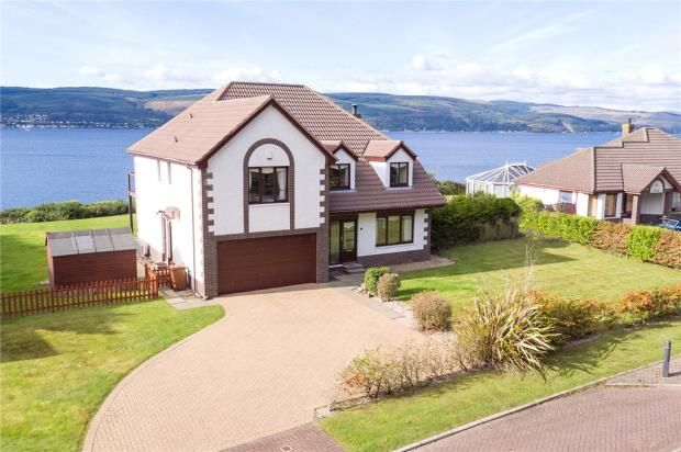 Thumbnail Detached house for sale in Leapmoor Drive, Wemyss Bay, Inverclyde