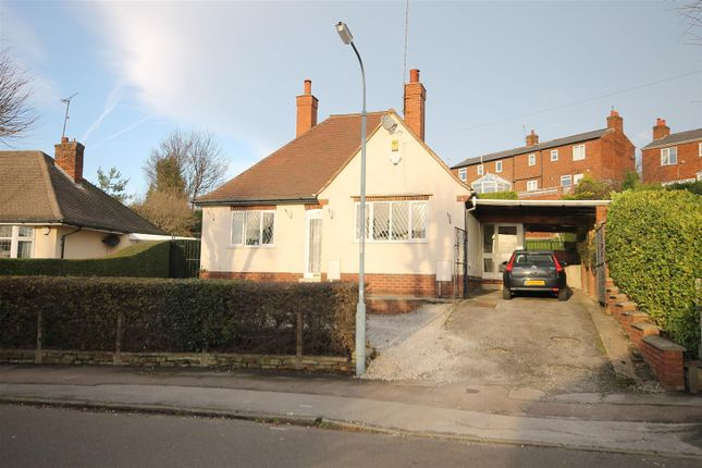 Thumbnail Detached bungalow for sale in Holmebank West, Brockwell, Chesterfield