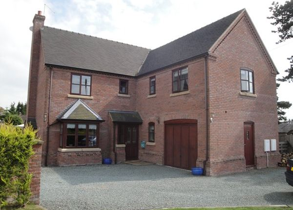Thumbnail Detached house for sale in Salisbury Road, Market Drayton