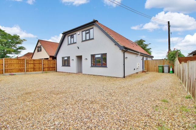Thumbnail Detached house for sale in Park Road, Spixworth, Norwich