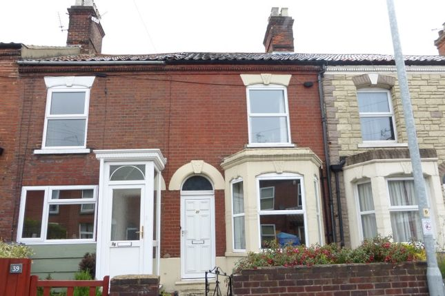 Thumbnail Terraced house for sale in Silver Road, Norwich, Norfolk