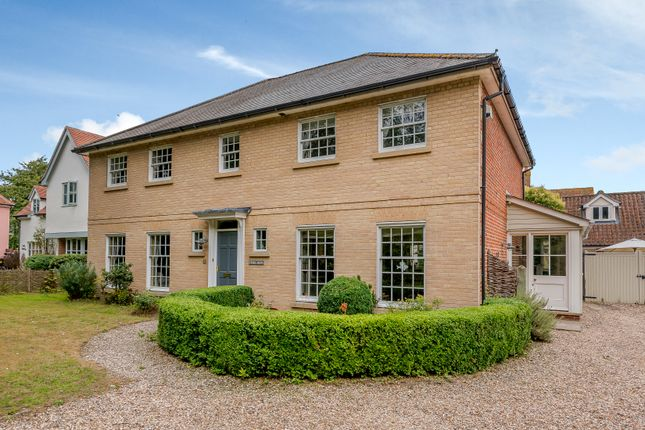 Thumbnail Detached house for sale in Hop Meadow, East Bergholt, Colchester