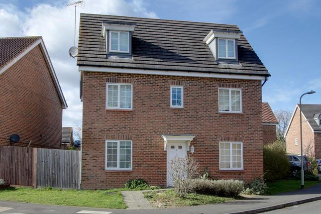 Thumbnail Detached house for sale in Allfrey Grove, Spencers Wood, Reading