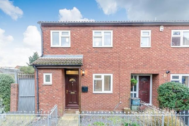 Thumbnail End terrace house to rent in Telford Close, London