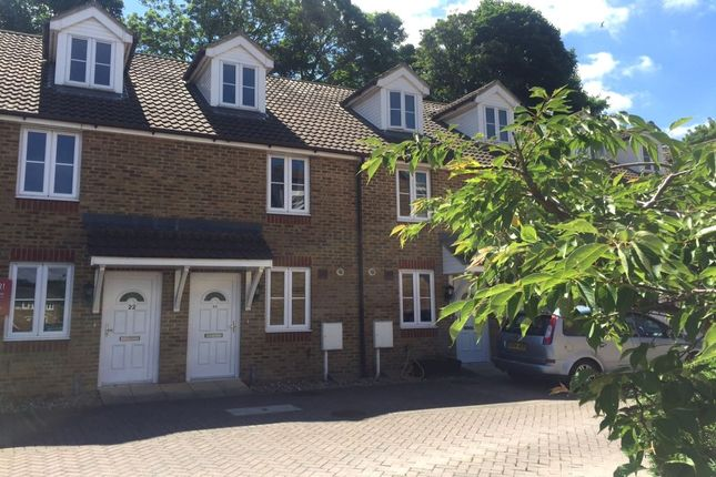 Thumbnail Terraced house to rent in Bridgeside Mews, Tovil, Maidstone