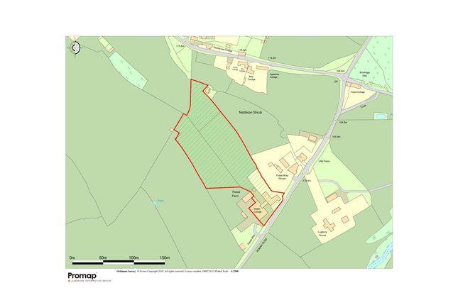 Site Plan of Nettleton, Chippenham SN14