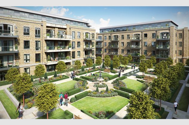 Thumbnail Flat for sale in Chiswick Gate, Burlington Lane, Chiswick