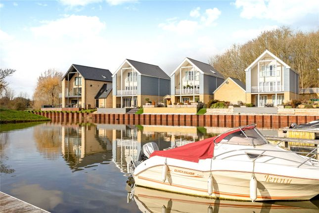 Thumbnail Detached house for sale in Waters Edge, Wansford Marina, Wansford, Peterborough